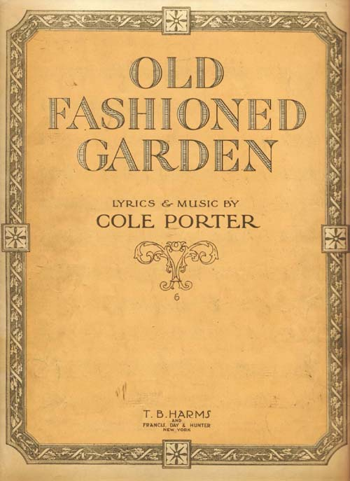 Old Fashioned Book Kindle Cover : Popular song old fashioned garden